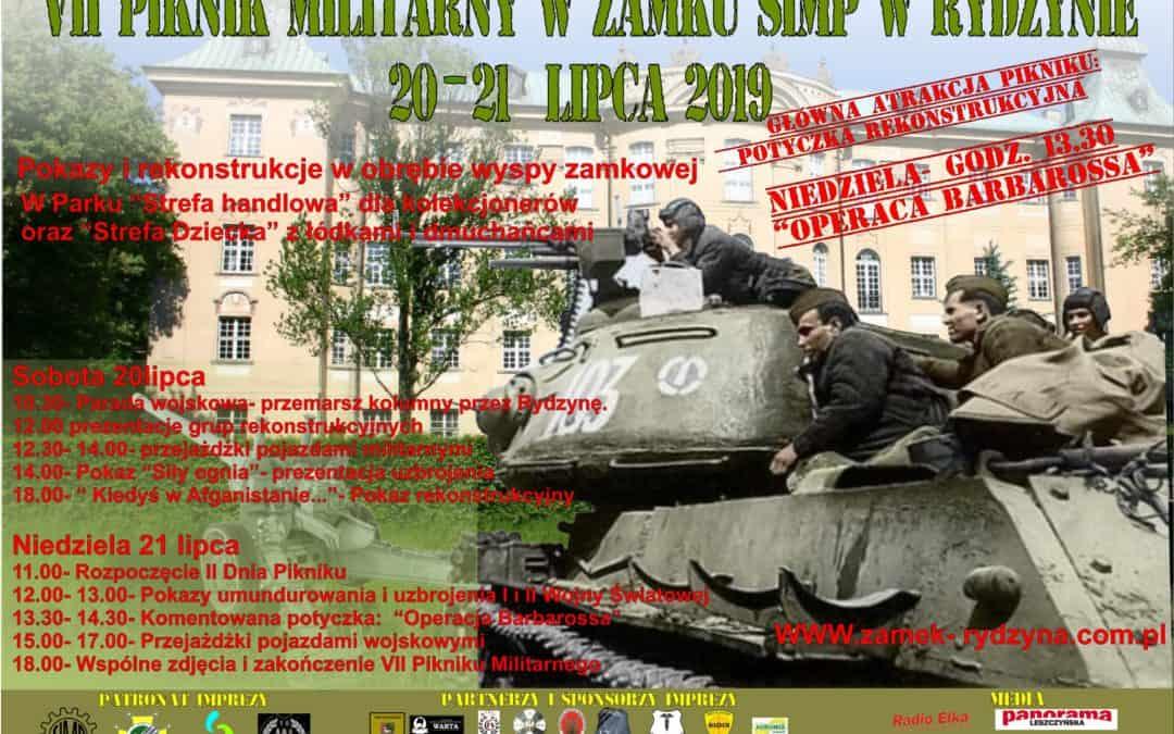 VII Piknik Militarny 20-21 lipca 2019